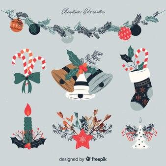 Kerstdecoratie in vintage stijl