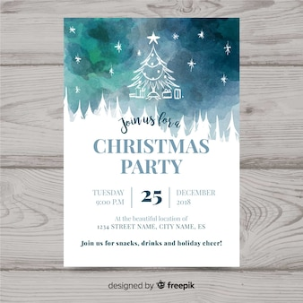 Kerstfeest flyer