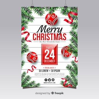 Kerstfeest poster