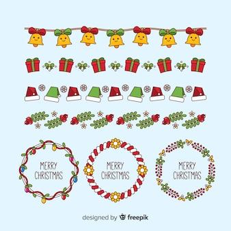 Kerstframes en randen