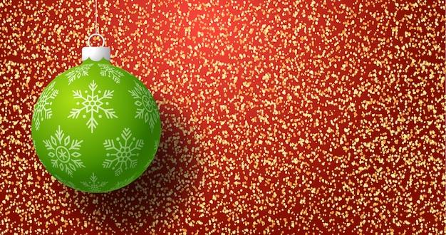 Kerstkaart met gouden glitter gouden glitter textuur verloop achtergrond