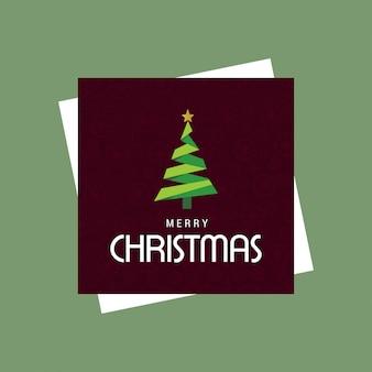 Kerstkaart ontwerp