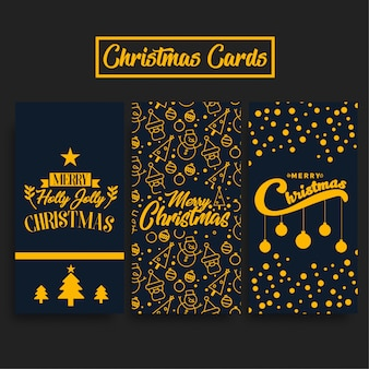 Kerstkaarten-pakket