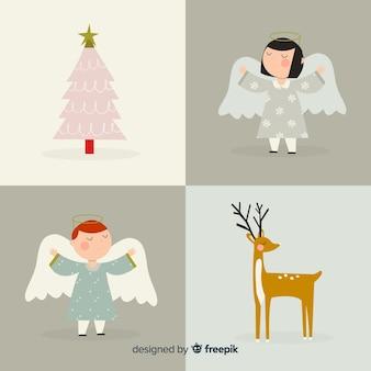 Kerstkarakter collectie
