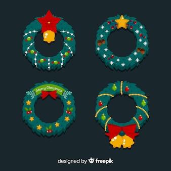 Kerstkransen instellen