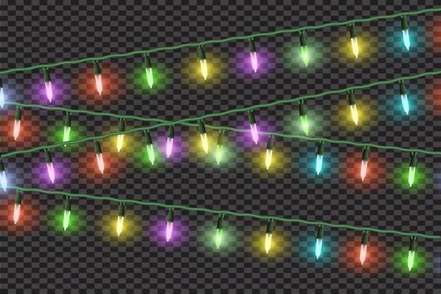 Kerstlichteffecten, slingers