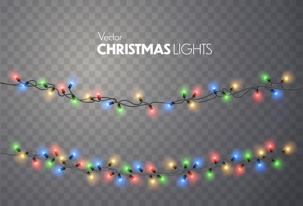 Kerstlichten.