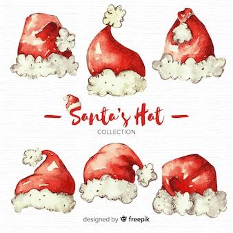 Kerstman hoeden collectie