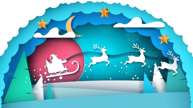 Kerstman illustratie