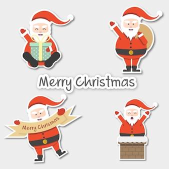 Kerstman karakter voor kerstmis