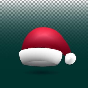 Kerstman kerstmuts gratis vector