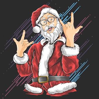 Kerstman santa claus