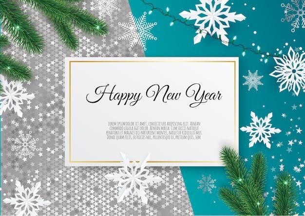 Kerstmis en nieuwjaar achtergrond, xmas card