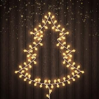 Kerstmis en nieuwjaar wenskaarten concept.