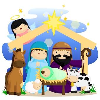 Kerstmis geboortekerk