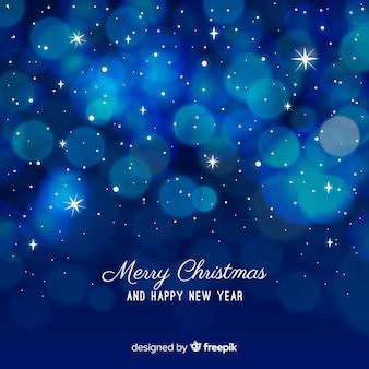Kerstmis licht cirkels achtergrond