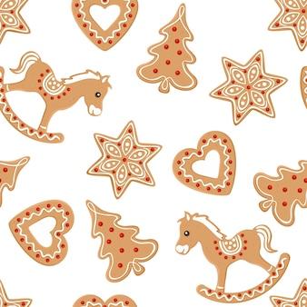Kerstmis met peperkoekkoekjes