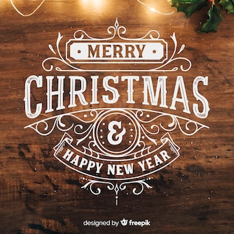 Kerstmis & nieuwjaar achtergrond