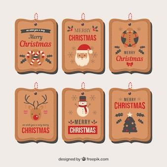 Kerstmis prijskaartje
