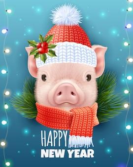 Kerstmis realistische afbeelding