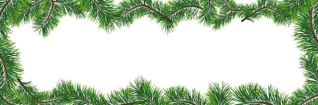 Kerstmisachtergrond met spartakken. illustratie met frame en copyspace