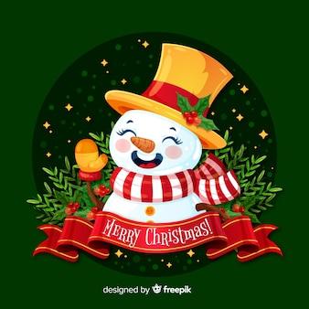 Kerstmissneeuwman
