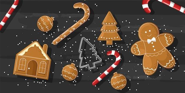 Kerstmissnoepjes met peperkoekkoekjes