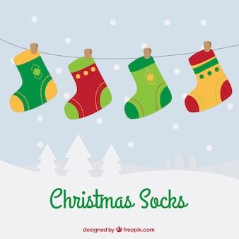 Kerstmissokken