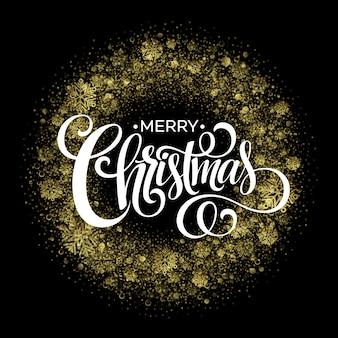 Kerstmissterretjes in vorm van kerstmiskroon op zwarte achtergrond