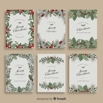 Kerstmistletoe kaartencollectie