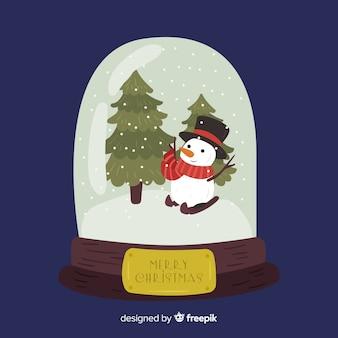 Kerstsneeuwbal