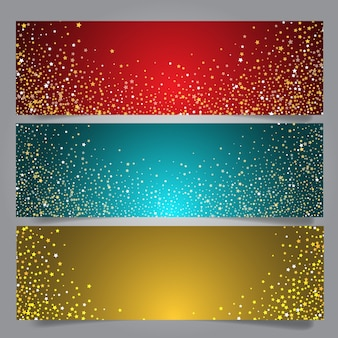 Kerstster banners