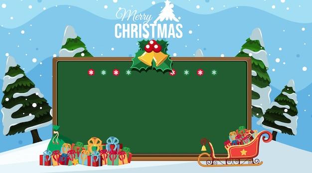 Kerstthema achtergrond