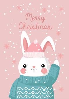 Kerstthema ansichtkaart en kaart vrolijk kerstfeest wensen