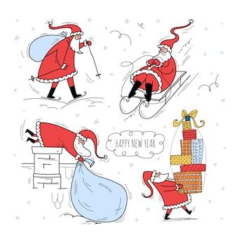 Kerstverhaal met de kerstman