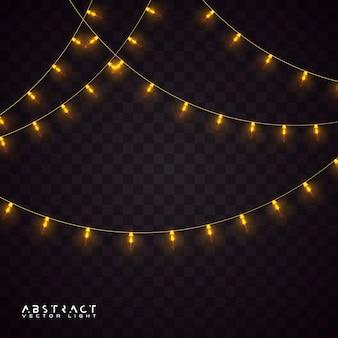 Kerstverlichting set, gloeiende lichten voor vakantie