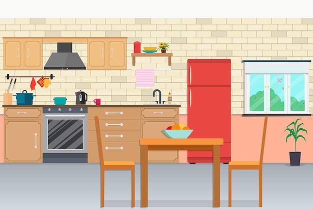 Keuken achtergrond