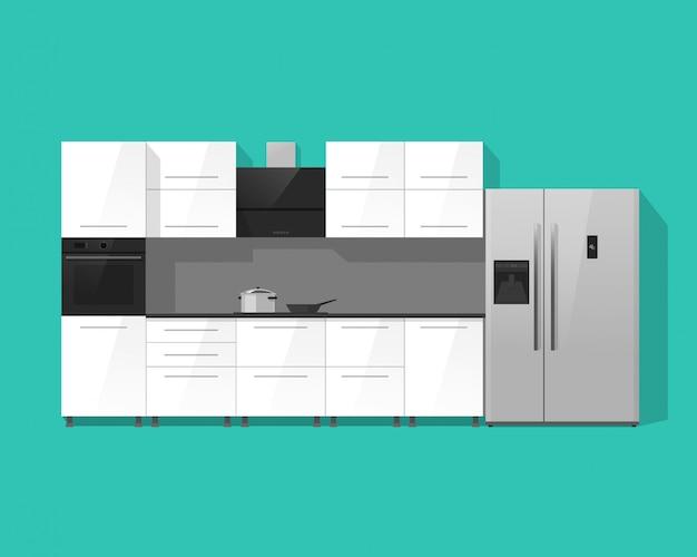 Keuken interieur kasten meubels