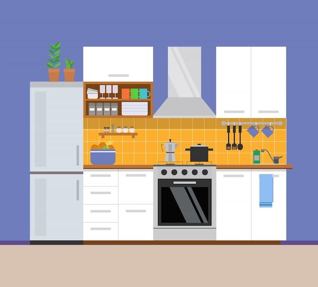 Keuken modern interieur