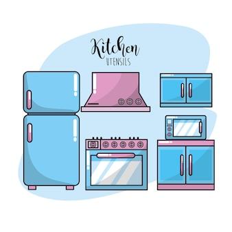Keukengerei traditioneel objectelement