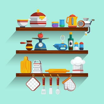 Keukenplanken set