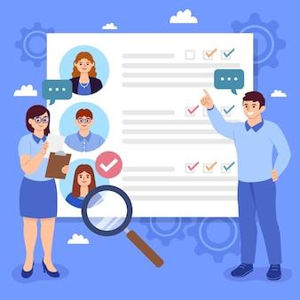 Keuze van werknemersconcept