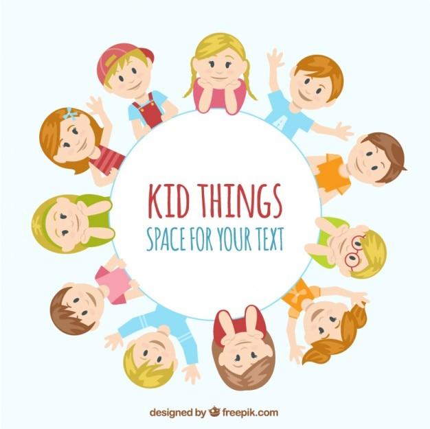 Kid dingen illustratie