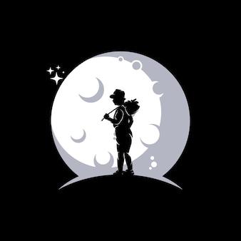 Kid droom illustratie