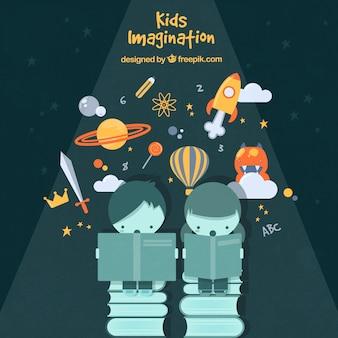 Kids verbeelding