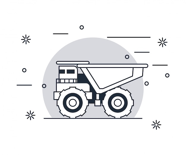 Kiepwagen voertuig