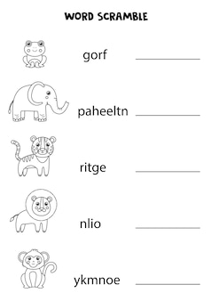 Kijk naar de afbeelding en schrijf de ontbrekende letter op. educatief spel voor kinderen.