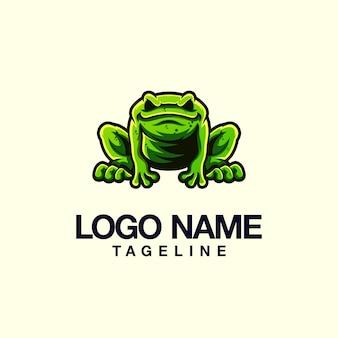 Kikker logo ontwerp