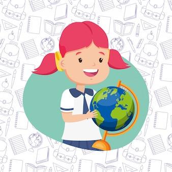 Kind in terug naar school