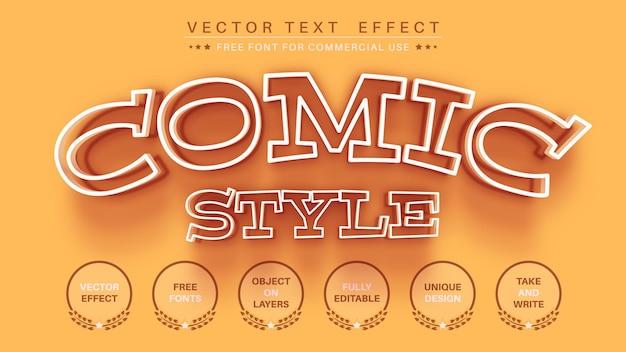 Kind teksteffect lettertypestijl bewerken